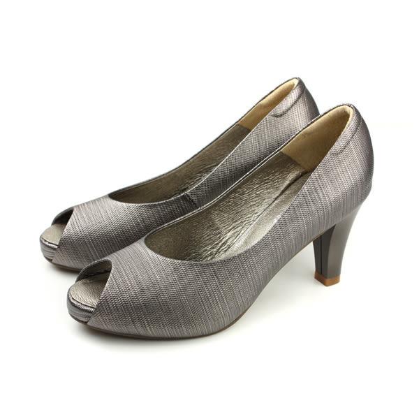 HUMAN PEACE 高跟鞋 魚口鞋 銀色 女鞋 94519 no264