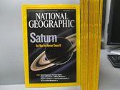 【書寶二手書T2/雜誌期刊_YBY】國家地理雜誌_2006/1~12月間_共9本合售_Saturn等