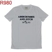 AF R980 Abercrombie & Fitch A&F A & F 男 T-SHIRT
