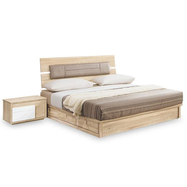 床架【時尚屋】[NM7]多莉絲5尺床片型雙人床NM7-33-1+33-2不含床頭櫃-床墊/免運費/免組裝/臥室系列