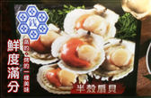 【明珠海產】特鮮大扇貝(約5顆/約325g)-含運價