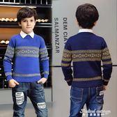童裝男童毛衣加厚秋冬兒童針織衫大童純棉寶寶套頭小孩打底衫