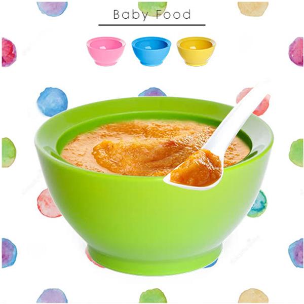 美國 Calibowl 專利防漏幼兒學習碗 8oz 粉色/綠色/黃色/藍色 1200 好娃娃