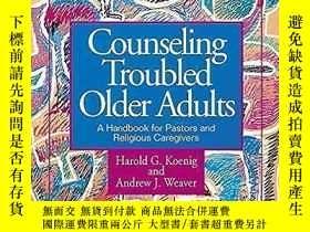 二手書博民逛書店Counseling罕見Troubled Older Adults (First Edition)Y35796