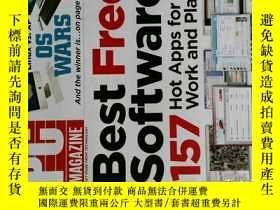 二手書博民逛書店PC罕見Magazine 2008年3月 英文個人電腦雜誌 可用樣板間道具雜誌Y14610