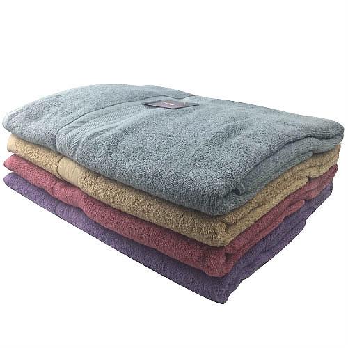 【台灣製造】ICH 中性色緞休閒大浴巾-素面簡約更時尚