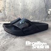 AIR WALK 全黑 橡膠  男女 情侶鞋  (布魯克林) 2018/7月 A511220-222