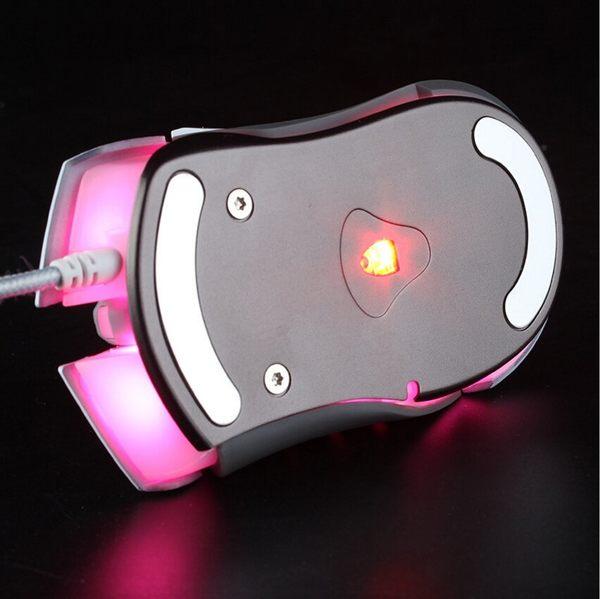 狼派 娜迦 圖騰版 遊戲 滑鼠 有線 CF LOL 電腦 筆電 滑鼠  電競 機械滑鼠【美樂蒂】
