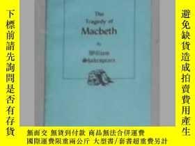 二手書博民逛書店英文原版罕見The Tragedy of Macbeth by