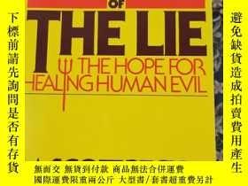 二手書博民逛書店PEOPLE罕見OF THE LIE 說謊的人Y286158 M.SCOTT PECK M.D 出版198