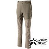 PolarStar 男抗UV彈性多口袋長褲 P16315『卡其』戶外│休閒│釣魚褲│防曬褲│吸濕排汗褲