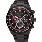 SEIKO 精工錶 Criteria 太陽能 藍寶石水晶鏡面 計時碼錶 SSC593P1 熱賣中!