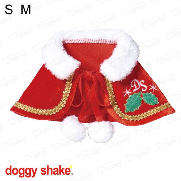 日本《Doggy Shake》聖誕快樂斗蓬 S/M 狗衣服 冬衣