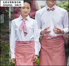 小熊居家襯衫 女裝長袖修身工作服 日韓OL職業服西餐廳甜品店烘培店工作服