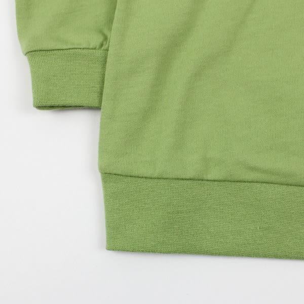 【愛的世界】純棉圓領長袖T恤/S號-台灣製- ★秋冬上著 outlet零碼