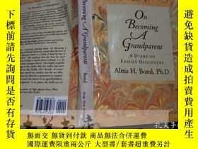 二手書博民逛書店原版英法德意等原版罕見on Becoming A grandpa