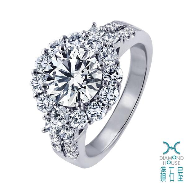 【鑽石屋】2克拉鑽石戒指