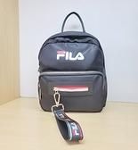FILA (原廠公司貨) 小後背包-黑色 BPT-9003