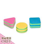 小叮噹的店-ORFF奧福樂器 三色塑膠砂筒(3入) SH-3 兒童樂器
