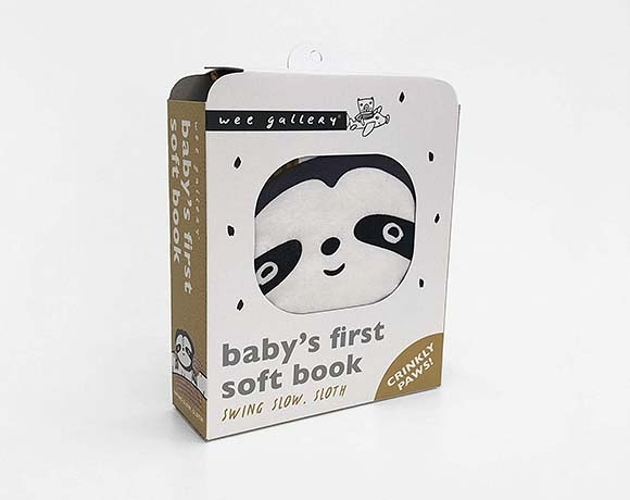 Wee Gallery Cloth Books:Swing Slow, Sloth 樹懶出遊記布書