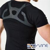 【BODYVINE 束健】男 短袖貼紮壓縮衣 UPF 50+ 抗紫外線 CT-17550 機能衣 緊身衣 運動服 瑜珈 跑步 馬拉松