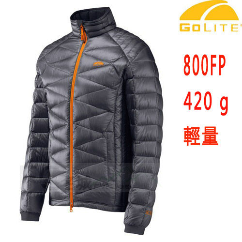 GOLITE 美國品牌 800FP 頂級輕量鵝絨羽絨外套/夾克 ~灰藍 (特惠價)