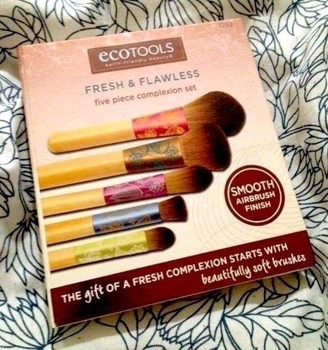 【愛來客 】美國直送~新款Ecotools Fresh & Flawless Complexion Brush Set 清新無暇化妝刷具組