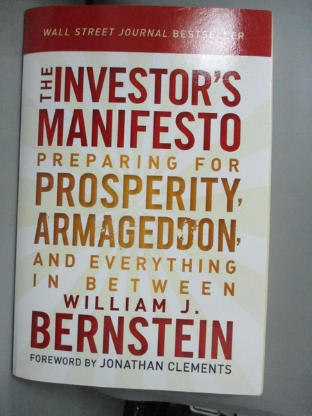 【書寶二手書T1/原文小說_XHA】The Investor's Manifesto: Preparing for…