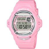 CASIO 卡西歐 Baby-G 花朵系列時尚手錶-粉紅 BG-169R-4CDR / BG-169R-4C