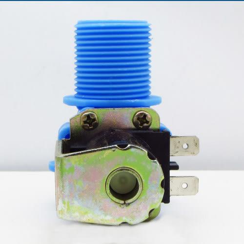 【90°單孔進水閥】大宇 (藍色) NW-90L   洗衣機 單管(孔) 一進一出 直型 進水閥 給水閥 外觀相同可用