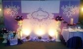 一定要幸福哦~~ 浪漫紫色風婚禮佈置,包套專案18000元會場佈置,浪漫型婚禮氣球佈置