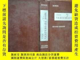 二手書博民逛書店【2598罕見THE VERTEBRATE BODY(脊椎動物身