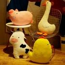 玩偶恐龍生日禮物毛絨玩具被子兩用抱枕小公仔布娃娃【輕派工作室】