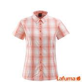 Lafuma 女 WAY 短袖排汗襯衫-橘 【GO WILD】