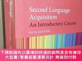 二手書博民逛書店Second罕見Language Acquisition: An Introductory Course Fift