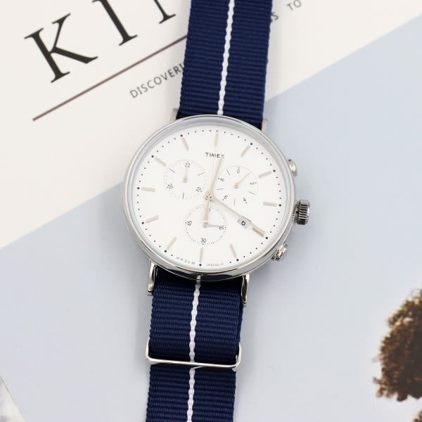 TIMEX/天美時 Fairfield系列 手錶/TXTW2R27000 白面