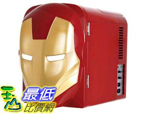 [美國直購] MARVEL 鋼鐵人迷你冰箱 IRONMAN 4L Thermoelectric Mini Fridge Cooler