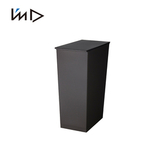 【 岩谷Iwatani 】長型可分類掀蓋式垃圾桶附輪36L 黑