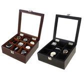 實木木質 高檔手錶盒首飾收納盒收藏盒展示儲物盒
