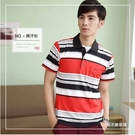 【大盤大】(C35503) 男 M XL 特價 短袖運動口袋涼感衣 吸濕排汗衫 NG恕不退換 條紋工作服