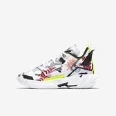 Nike Jordan Why Not Zer0.4 (gs) [DD9659-007] 大童 籃球鞋 運動緩震 白 黑