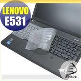 【EZstick】Lenovo ThinkPad E531 系列 專用高級TPU鍵盤保護膜