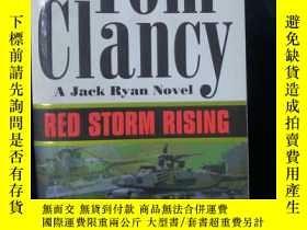 二手書博民逛書店Red罕見Storm Rising【英文原版書】Tom Clancy - 32開本Y9636 Tom Clan