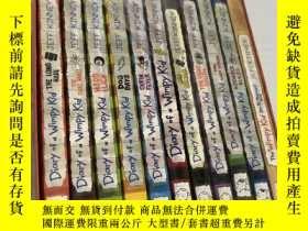 二手書博民逛書店Diary罕見of a Wimpy Kid 小屁孩日記 11冊Y
