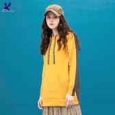 【秋冬降價款】American Bluedeer - 連帽梯形口袋針織洋裝(魅力價)  秋冬新款