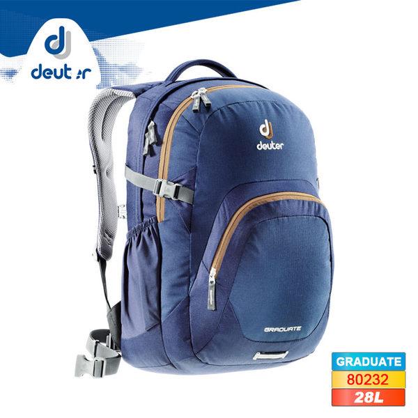 deuter GRADUATE 休閒背包80232(28L) / 城市綠洲(德國背包、後背包、旅行背包)