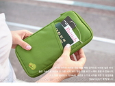 【DG325】韓版多功能『旅行護照收納袋』 多用途手拿包 卡片存摺收納包 26x15公分★EZGO商城★