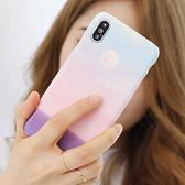 韓國 漸層天空 硬殼 手機殼│iPhone 6 6S 7 8 Plus X XS MAX XR 11 Pro LG G7 G8 V40 V50│z8425