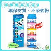 ✿蟲寶寶✿【愛兒房Baby house】台灣製 五層奶粉盒 / 奶粉罐 / 奶粉分裝盒 Tritan材質 彩色馬