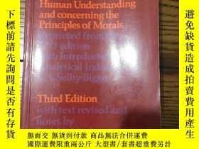 二手書博民逛書店Enquiries罕見concerning Human Understanding and concerning